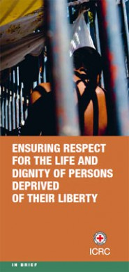 Ensuring respect for the life and dignity of persons deprived of their liberty