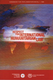 Respect for international humanitarian law