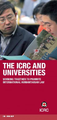 The ICRC and universities: working together to promote international humanitarian law