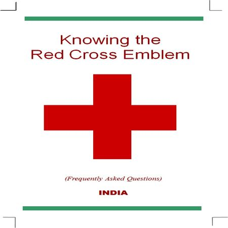 Knowing the Red Cross emblem