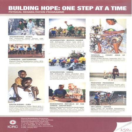 Building hope : One step at a time - Physical rehabilitation programme