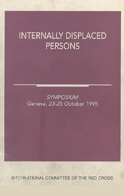 Internally displaced persons : Symposium 23-25 October, 1995