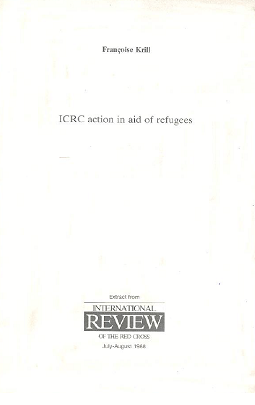 ICRC action in aid of refugees
