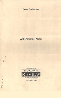 Anti-personnel mines